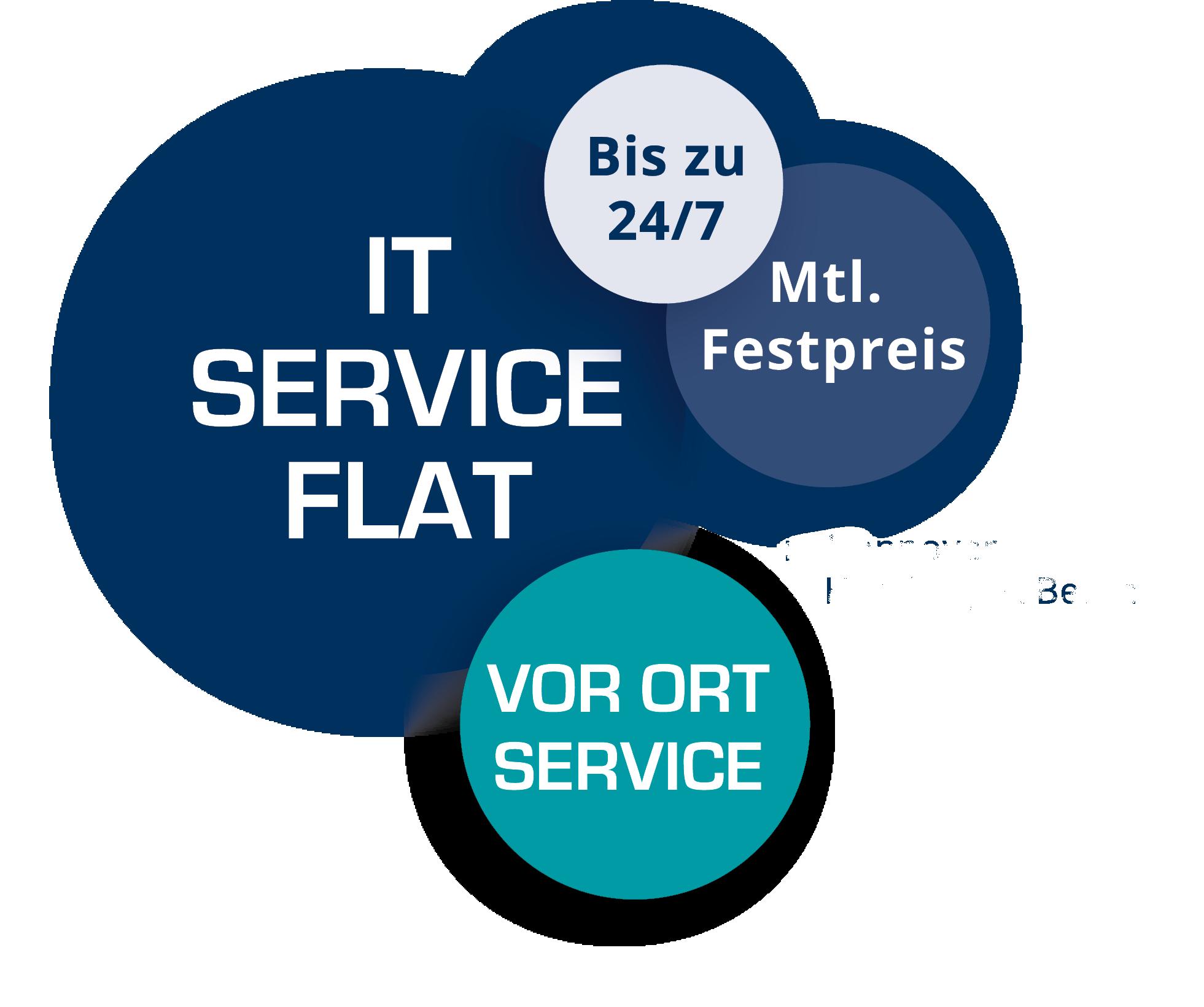 IT SERVICE FLAT ohne Standorte